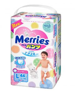 KAO Merries Pants Diapers PL 44 Pieces