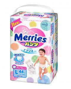 KAO Merries Pants Diapers PL 44 Pieces