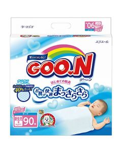 DAIO GOO.N Tape Diapers New Born(NB) 90 Pieces