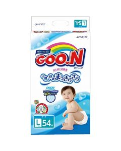 DAIO GOO.N Tape Diapers L 54 Pieces