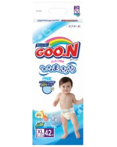 DAIO GOO.N Tape Diapers BIG(XL) 42 Pieces