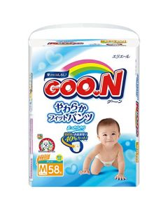 DAIO GOO.N Soft Skip Pants Diapers PM 58 Pieces